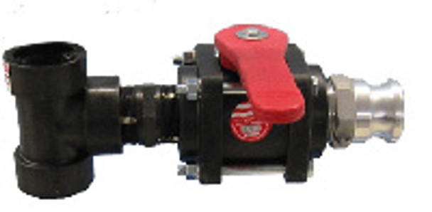 T-Assembly with 1 1/2 inch Ball Valve from Beach Groomer