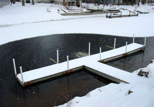 Kasco Deicer Models for Marinas, Docks, Piers, Lakes & Ponds