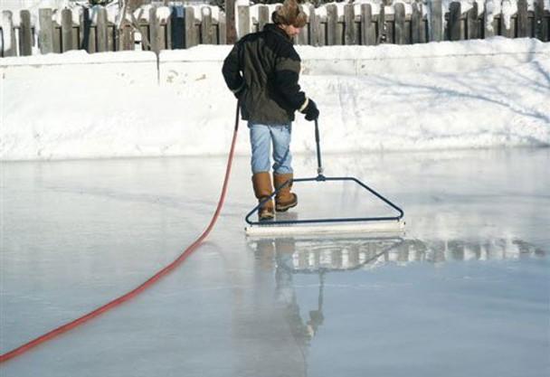 Ice Rink Groomer | 52 inch &  32 inch Skating Rink Resurfacer | Ice Master