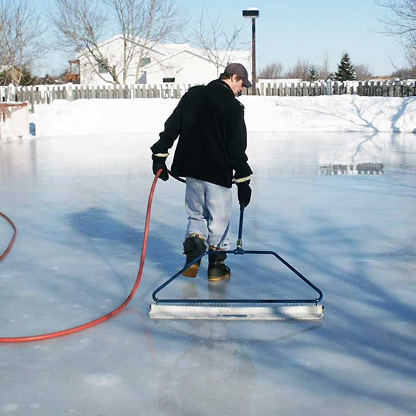 32 inch portable ice rink smoothener resurfacer