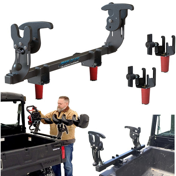 Ice Auger Carrier for Polaris Ranger Jaws of ice auger holder