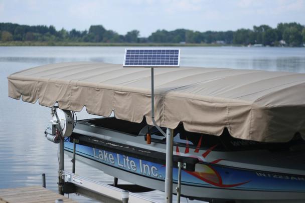 Solar Charging Station for Boat Lift & Dock