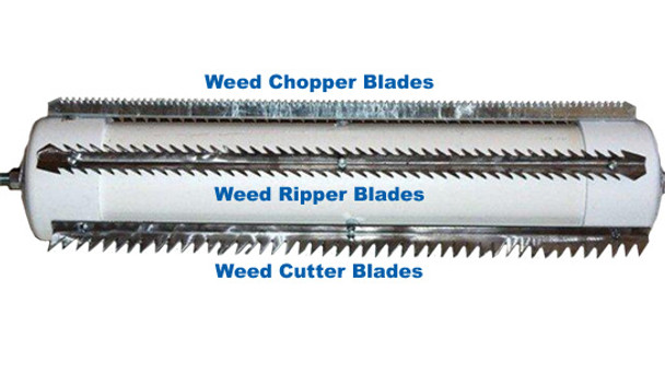 Lake Weed Roller Puller Cutter