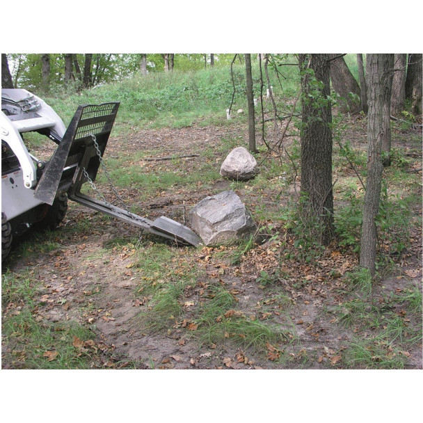 Paumco Quick Spade Fork attachment for bobcat