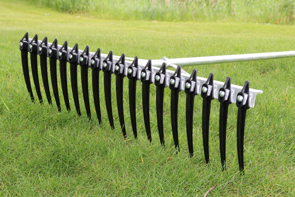Large Rake with Big Long Tines Teeth for Raking Lake & Pond Weeds And Cleaning Aquatic Seaweed