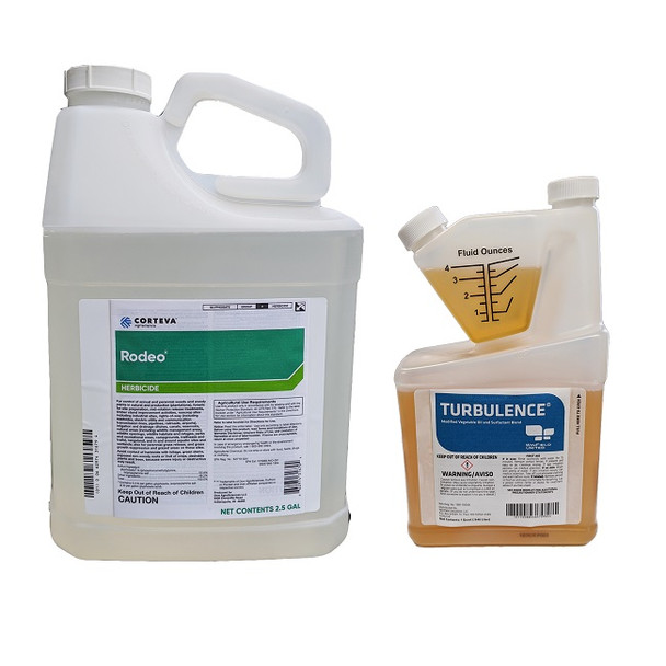 Rodeo herbicide with adjuvant