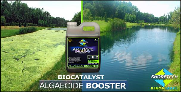 Algae-Blitz Aquatic Biocatalyst Adjuvant Algaecide Booster Product