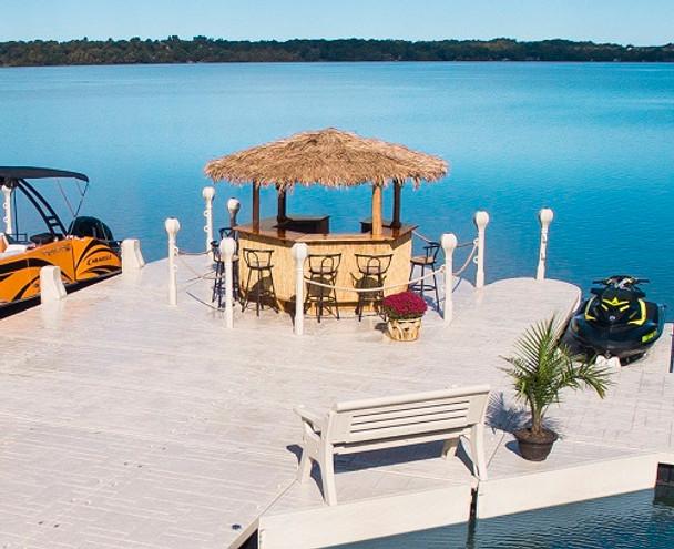 lake beach tiki hut for sale minnesota
