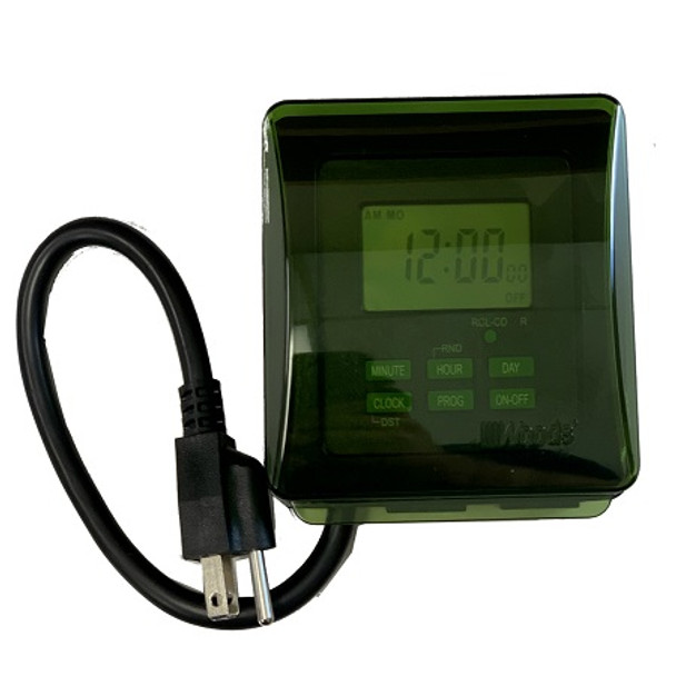 7 day digital outdoor timer for AquaThruster