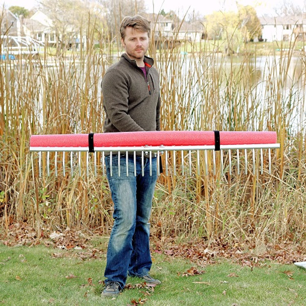 UltraLite Rake | Light Weight Beach and Lake Rake