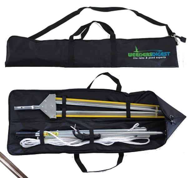 The WeedShear's protective carrying case is a great way to make transporting your Weed Shear safe and easy.