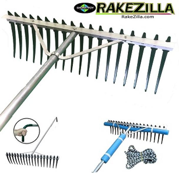 Lake Weed Cleanup Kit | Weed Cutter | Rake / Fork