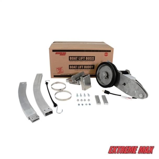 Boat lift motor