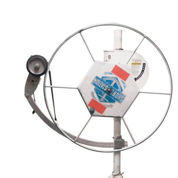 Universal Boat lift wheel attachment