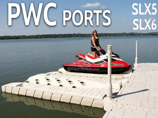 Wave Armor Floating PWC jetski port dock system minnesota for sale