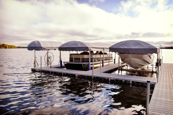 JB Lund Roll In Boat Docks