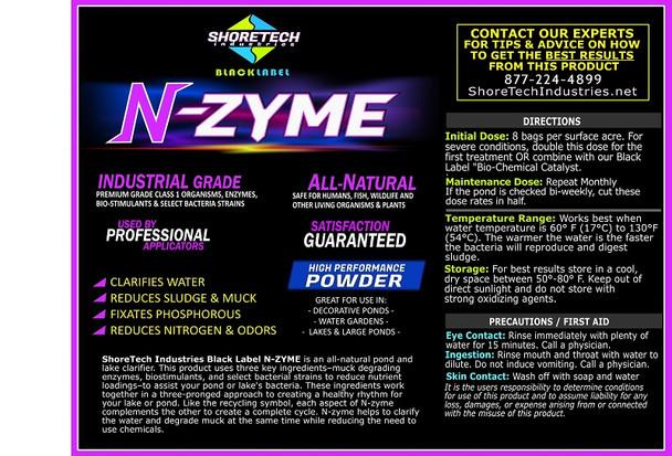 N-Zyme   Eco-friendly Pond & Lake Water Clarifier Powder Bacteria