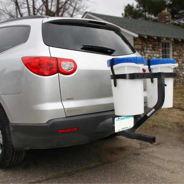 Bucket Locker on SUV