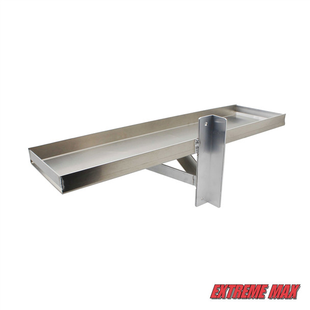 Post-Mount Dual Battery Tray for Boat Lift