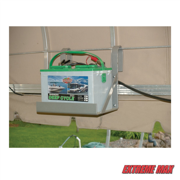 Hanging Single Battery Tray for Boat Lift Boss