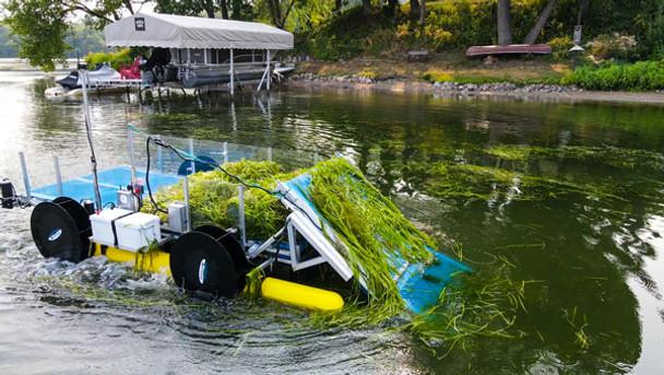 Aquatic Lake Weed Harvester