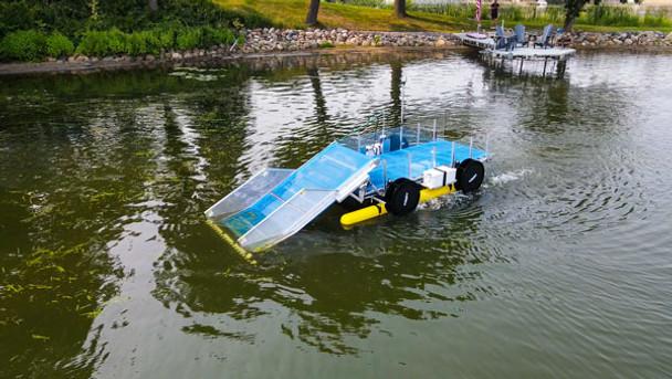 WaterGator   Remote Controlled Aquatic Harvester