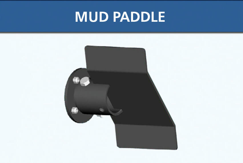Lake Groomer Mud Paddle