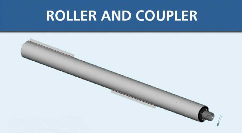 Lake Groomer Roller Coupler