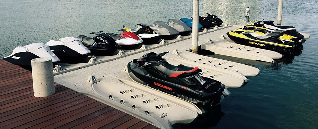Wave Armor PWC Dock