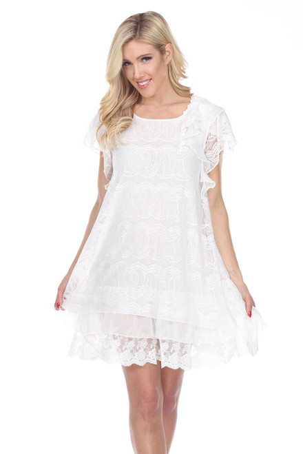 pretty angel dress