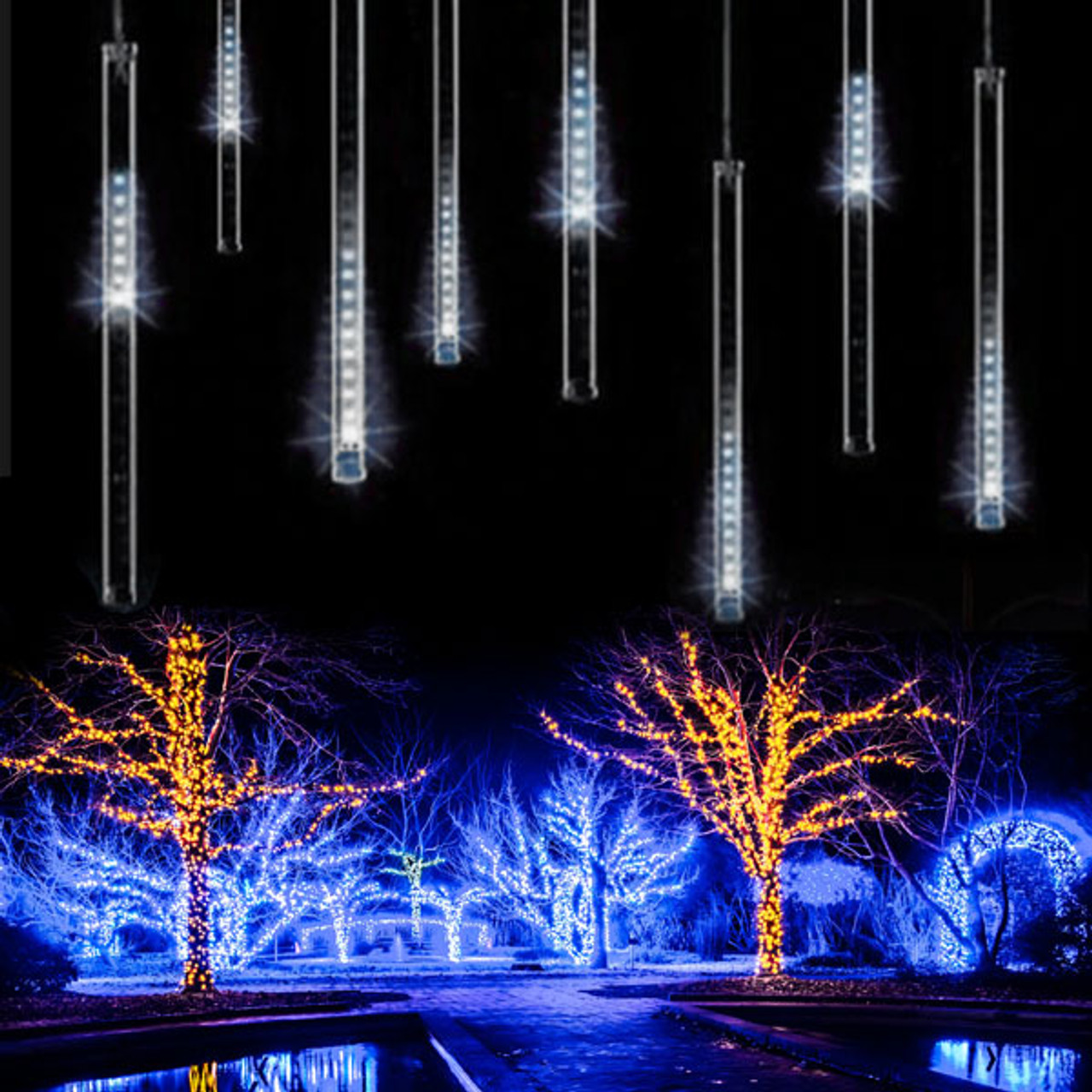 Led Dripping Icicles 100dripping Ice