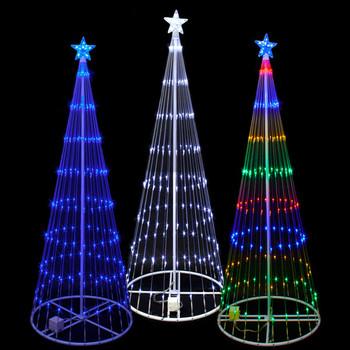 Christmas Decorations Trees Pvc Light Up Christmas