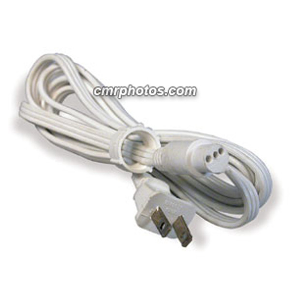 "CROWN ROPE LIGHT 3 WIRE 1/2""6' STEADY BURN POWER CORD (5/BAG) - Pack/5"