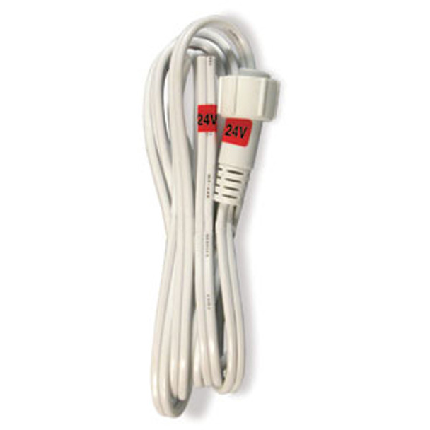 "CROWN ROPE LIGHT 3 WIRE 1/2"" 6FT (12 or 24VOLT) POWER CORD (5/BAG) - Pack/5"