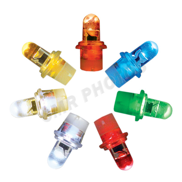 LED 12v Clip Light Replacement bulb - Color Options