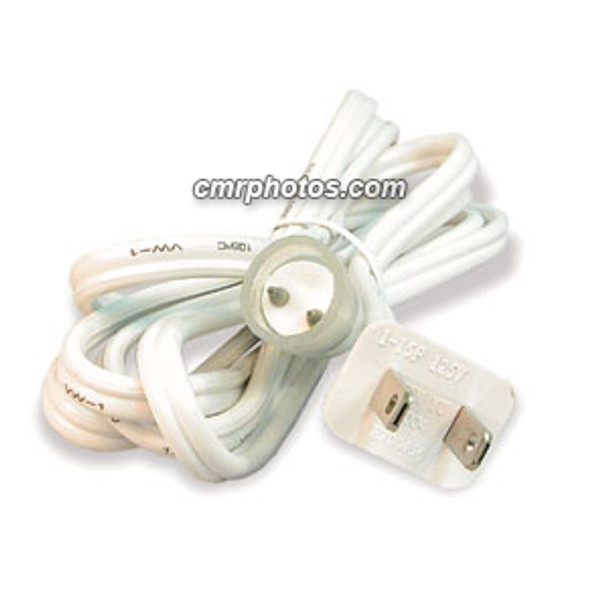 """CROWN ROPE LIGHT 2 WIRE 1/2"""" 6FT OUTDOOR STEADY BURN POWER CORD (5/BAG) - Pack/5"""