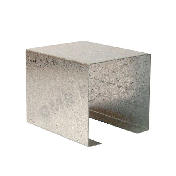 "2 1/4"" x 2 1/4"" Galvanized Sleeve"