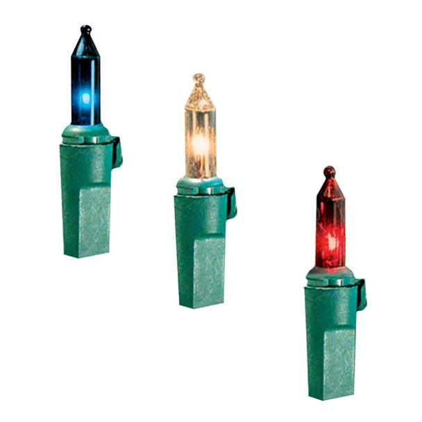 50 Lamp Commercial Grade Mini Light Set - Color Options