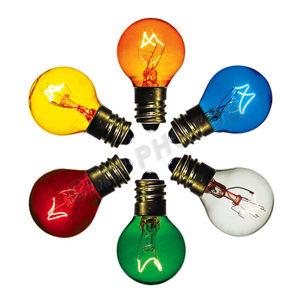 7 watt G8 Transparent Bulb Options