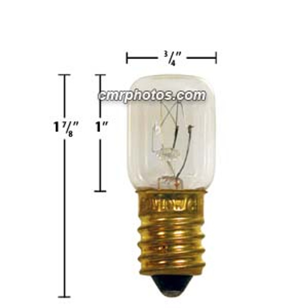 T-5.5 10W  FLAT TOP 46mmMOL - Pack(50bulbs)
