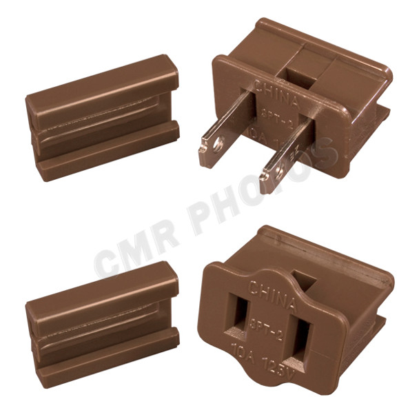 SPT2 Zip Cord Brown Vampire Plug Options