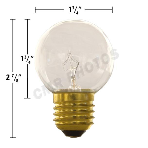 15 watt G16.5 Replacement Bulb