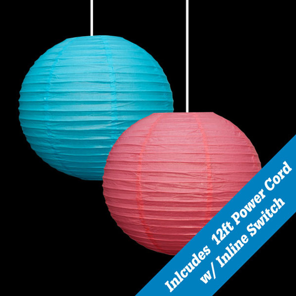 """14"""" Paper Hanging Globe Color Options"""
