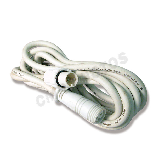 Commercial Icicle Christmas Lights In-Line Extension Cord - 100WALLICEXT2