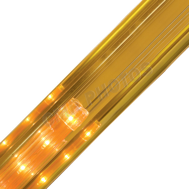 Gold Crown Premium Reflective Rope Light Track - 206REFG