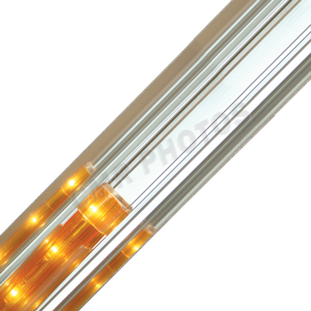 Silver Crown Premium Reflective Rope Light Track - 206REFS