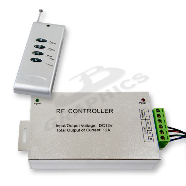 RGB CONTROLLER WITH REMOTE - 227LEDTL-CTL