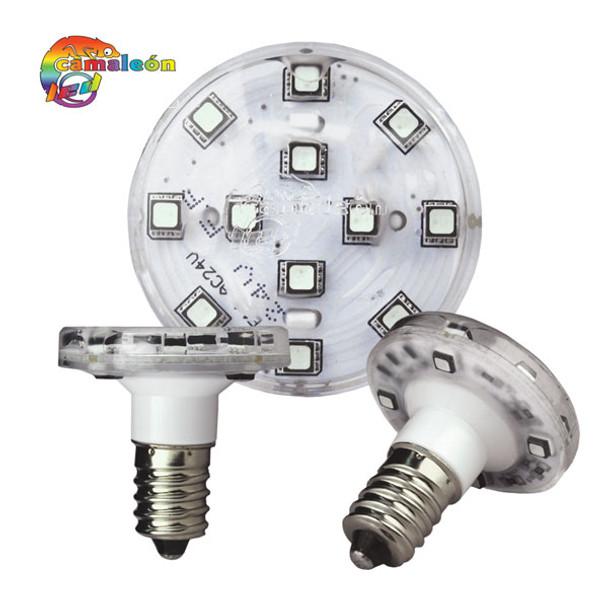 16 PROGRAMMED RGB SMD LED E14 AUTO BULBS - PACK OF 16 - 227LEDCE14A