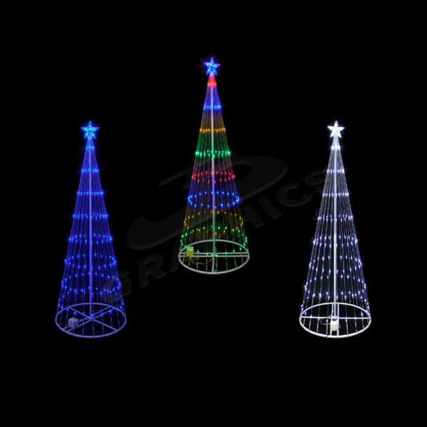 4 FOOT 3D LED SHOWMOTION TREE  - 100SHTREE4
