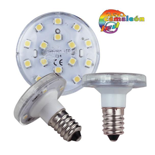 CAMALEON 24 VOLT SMD LED E14 WHITE TURBO REPLACEMENT BULB- PACK OF 10 -  227LEDCE14/24W